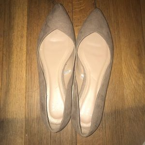 a new day Shoes - NWOT Nude pointed toe flats